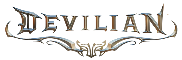 File:DevilianLogo Metalic.png