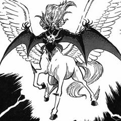One of Utsugi's alternate Devilman forms