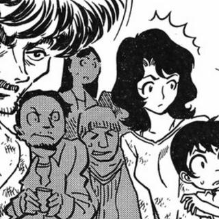 Kensaku and his parents