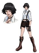 DMC Anime - Lady