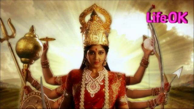 File:Annoyed Goddess Durga With Ten Arms.png