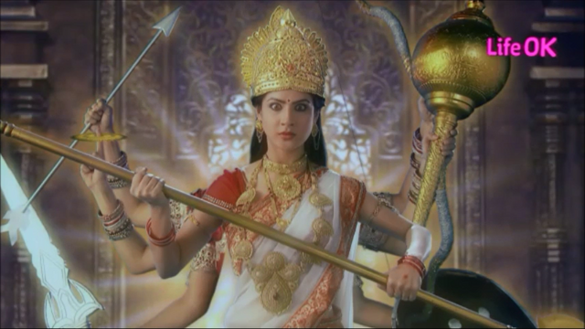 File:Eight-Armed Ferocious and Infuriated Goddess Shakti.png