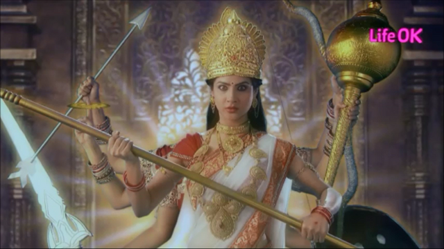 File:Eight-Armed Ferocious and Untamed Goddess Shakti.png