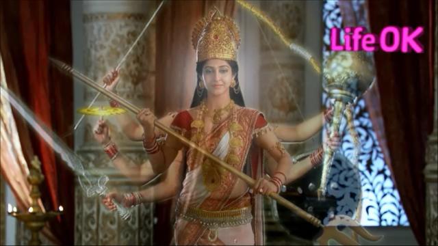 File:Eight-Armed Benevolent Goddess Shakti.png