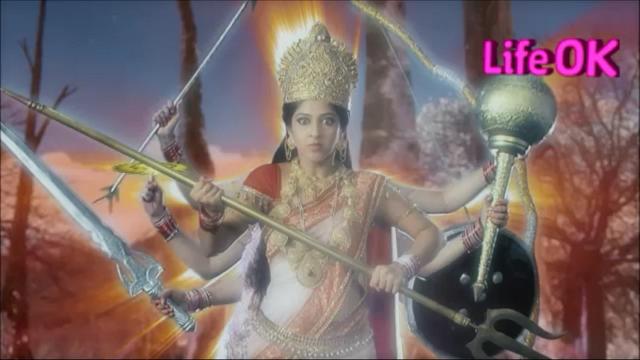 File:Eight-Armed Goddess Shakti Curses The Gods.png
