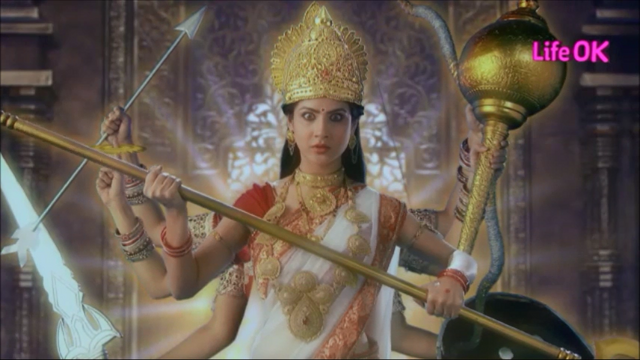 File:Eight-Armed Ferocious and Terrifying Goddess Shakti.png