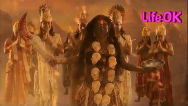 File:Gods Pay Gratitude To Goddess Kali.png