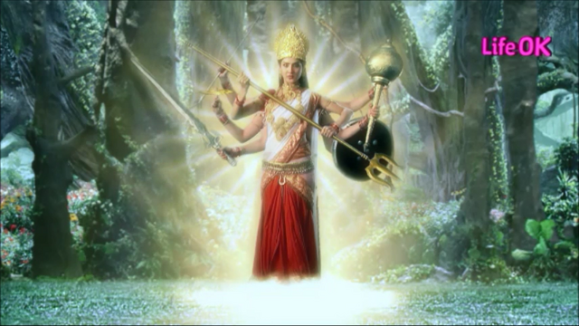File:Eight-Armed Ferocious Goddess Shakti.png