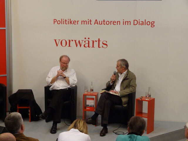 Datei:Interview Thierse.jpg