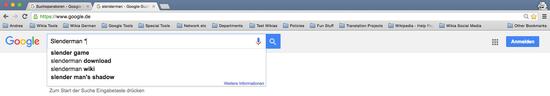 Google-Suchoperatoren