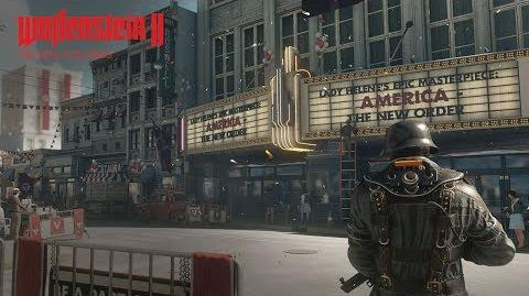 Wolfenstein II The New Colossus – E3 2017-Enthüllungstrailer