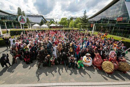 ComicCon Stuttgart Gruppenfoto