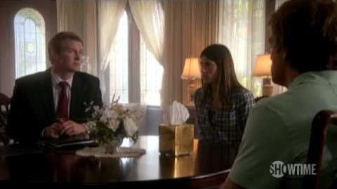 Dexter Season 5 Episode 1 Clip - A Grieving Spouse
