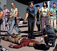 Crime scene arthur bleek