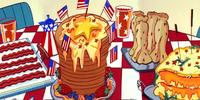 All-American Buffet Breakfast Bonanza