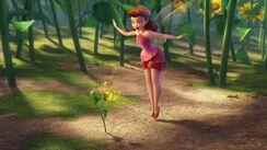 Rosetta pflanzt Blumen