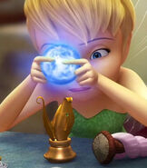 Tinker Bell Holding The Moonstone