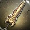 Battleworn Iron Claymore