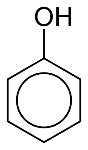 File:352px-Phenol-2D-skeletal.png