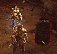 Torture-barrel