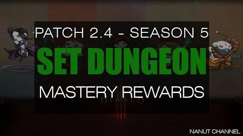 Diablo 3 2.4 All Set Dungeon Mastery Rewards
