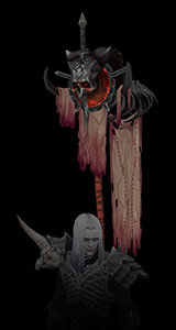 Blood Master Pennant