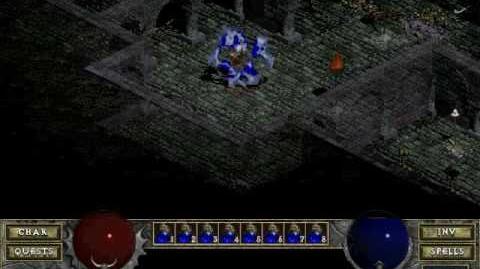 Diablo 1 spells - Teleport (by Decimius)