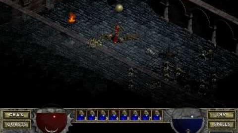 Diablo 1 spells - Mana Shield (by Decimius)