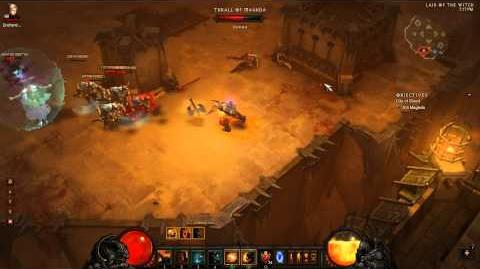 Inferno Magda with 5 Nephalem Valor on a Throwing Barbarian in Diablo 3