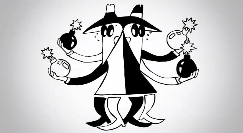 Black-White Spy