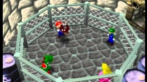 Mario Party- 4 Player Minigame - Hot Bob-Omb