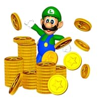 File:Luigi with Coins 2.jpg