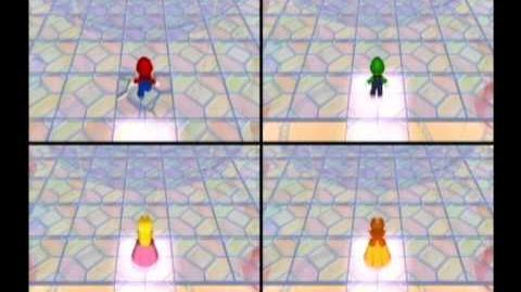 Mario Party 6 4 Player Minigame - Memory Lane Daytime