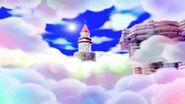 Mario's Rainbow Castle Scene