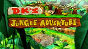 DK's Jungle Adventure Logo