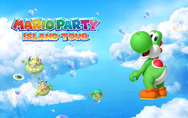 File:Mario Party Island Tour 1280x800 Yoshi.jpg