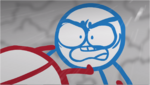 DFTM- Blue insulting Red
