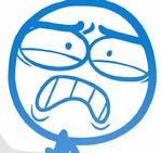DFTM - Blue in terrible pain