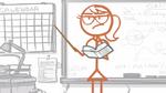 Dick Figures Teacher