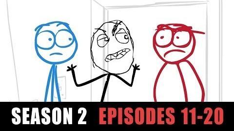 Dick Figures - Web Season 2 (Episodes 11-20)
