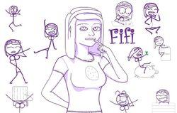 Detailed Fifi