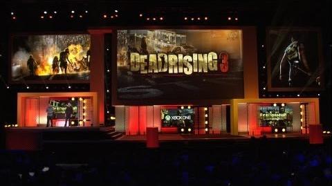 Dead Rising 3 - E3 2013 Microsoft Press Conference