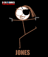 Jones Character Poster
