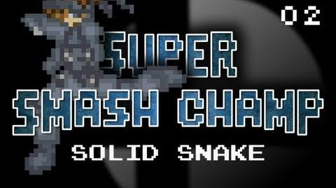 Solid Snake vs MagiKoopa (Super Smash Champ - Episode 2)