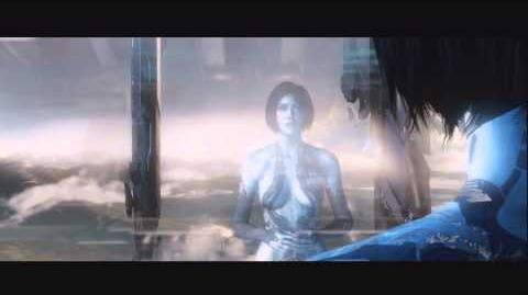 Halo 4 Master chief and Cortana emotional scene