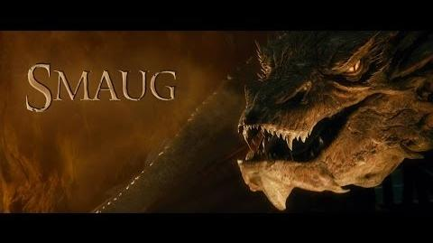 The Hobbit - Desolation of Smaug Smaug's actual Voice HD