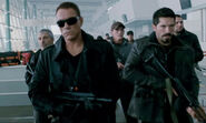DHS- JCVD and Scott Adkins in Expendables 2