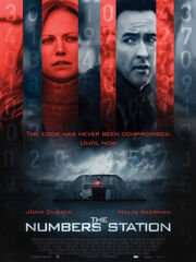 DHS- The Numbers Station (2013) movie poster