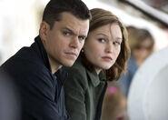 DHS- Matt Damon and Julia Stiles in The Bourne Ultimatum