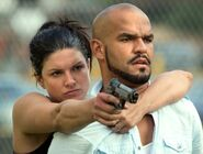 DHS- Gina Carano and Amaury Nolasco in In the Blood (2014)